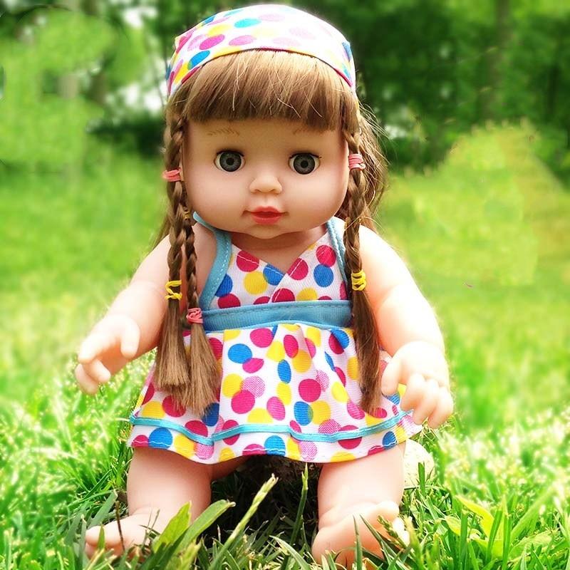 Lol poupées jouets Bjd bébé Reborn Silicone son clignotant parler garçon fille en caoutchouc souple Simulation bébé poupée jouet jouets pour enfants