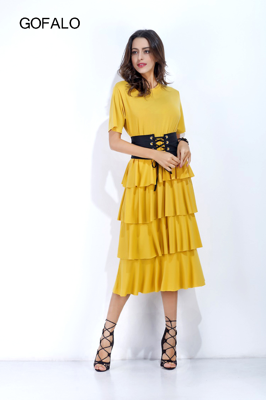 Tiered Dresses Promotion-Shop for Promotional Tiered Dresses on ...