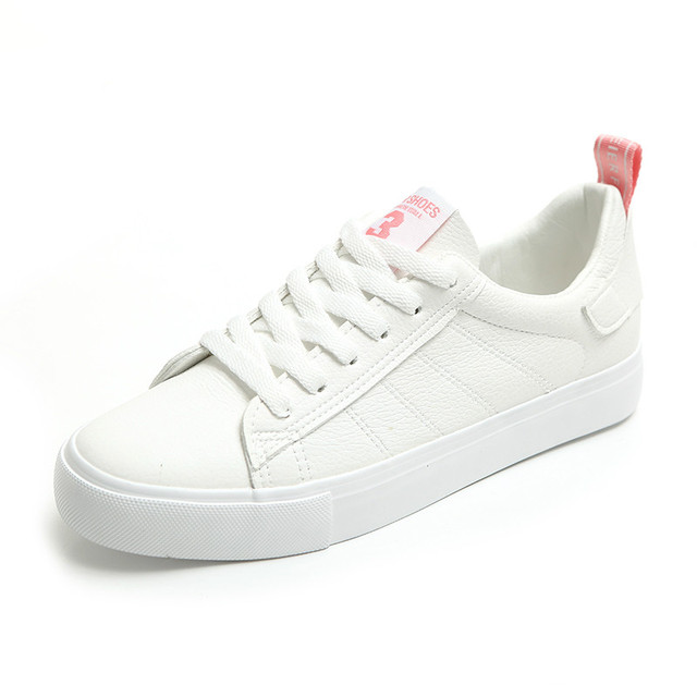 Huanqiu 2018 nuevas mujeres Zapatos blanco sneakers para mujer estilo fresco  zapatillas deportivas mujer scarpe Donna 3b6b784e7c0e