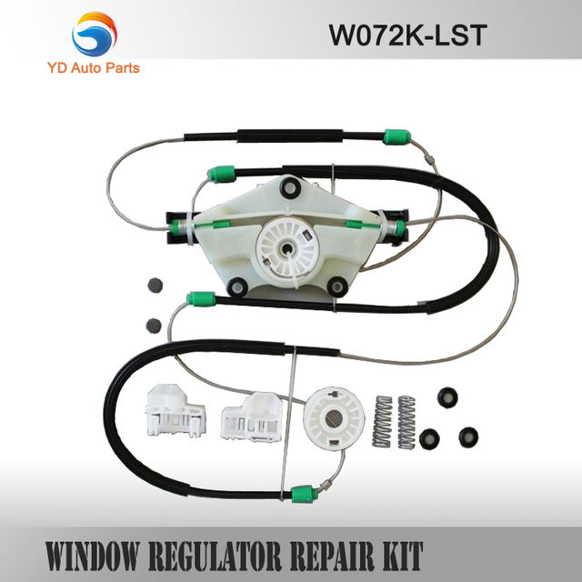 YD WINDOW REGULATOR COMPLETE REPAIR KIT SET TYPE FOR VW PASSAT B5 ELECTRIC WINDOW REGULATOR REPAIR KIT FRONT LEFT SIDE