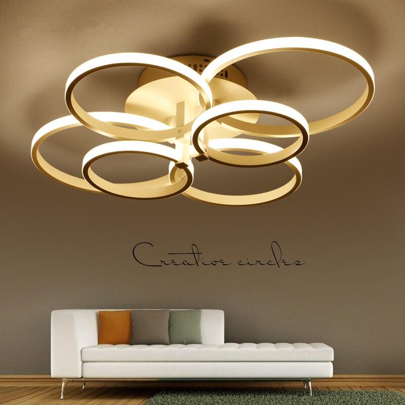 Moderne Led Plafond Verlichting Aluminium Ringen Armaturen Woonkamer Plafond Lampen Nordic Slaapkamer Armaturen Home Deco Plafond Verlichting Fabrieken En Mijnen