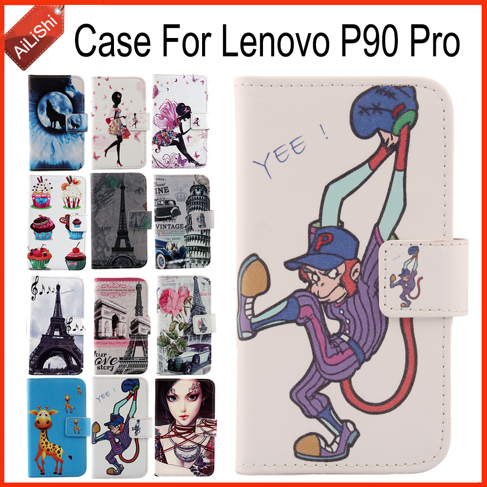 AiLiShi In Stock Case For Lenovo P90 Pro Luxury Flip Hot Sale PU Leather Case Exclusive 100% Special Phone Cover Skin+Tracking