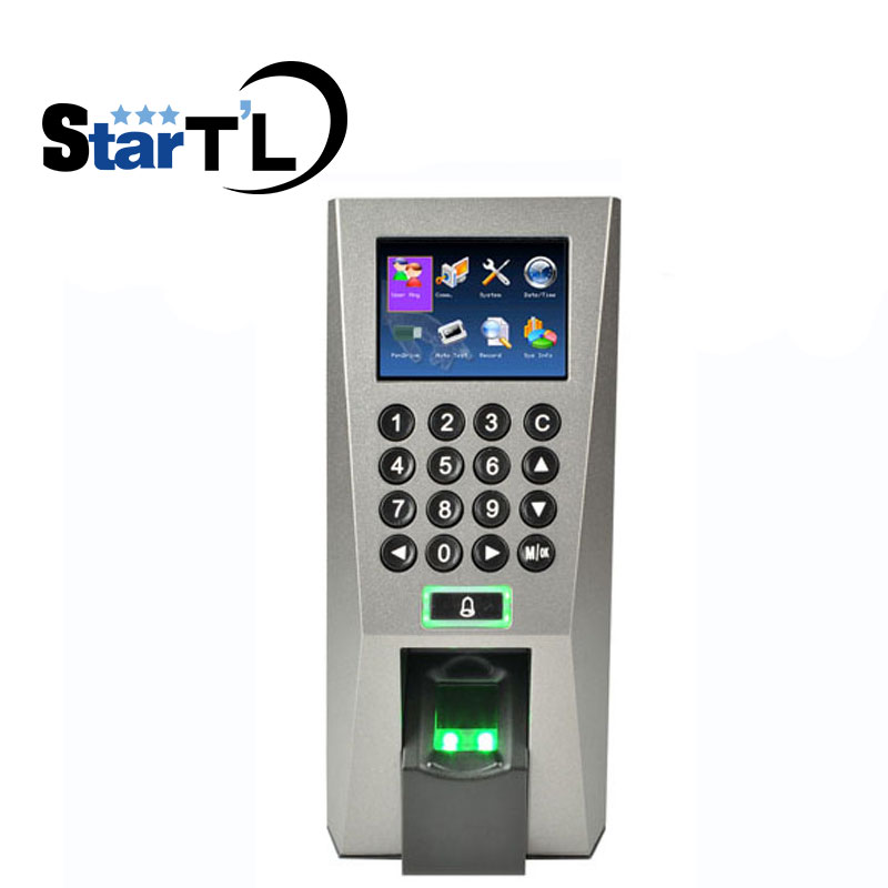 Free Shipping ZK F18 Fingerprint Access Control Time Attendance biometric Recognition System TCP/IP For Door Access Controller free shipping zk linux system tcp ip touch screen fingerprint finger vein and smart card access controller door access control