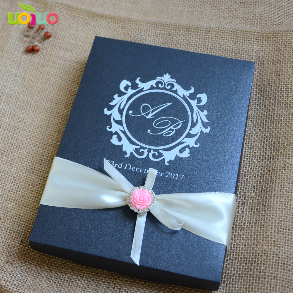 Hot Sale 20pcs Wholesale Price Acrylic Wedding Invitation Cards