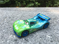 Original del coche de pixar movie 2 1:55 metal diecast carla veloso juguete cars nueva loose
