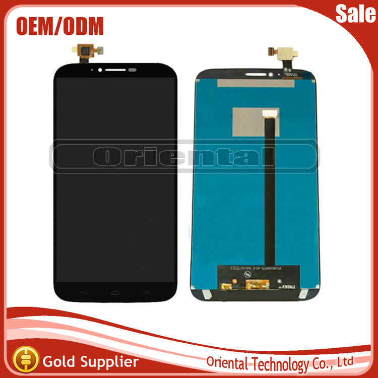 For Alcatel One Touch Hero 2 8030 8030B 8030Y LCD Screen Display + Touch Screen Digitizer Assembly Black Free Shipping