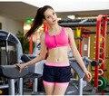 7 cores Novas Mulheres Sutiã Acolchoado Para Shakeproof Push Up Sutiãs Sem Costura Top De Fitness Para A Mulher Estilo Verão