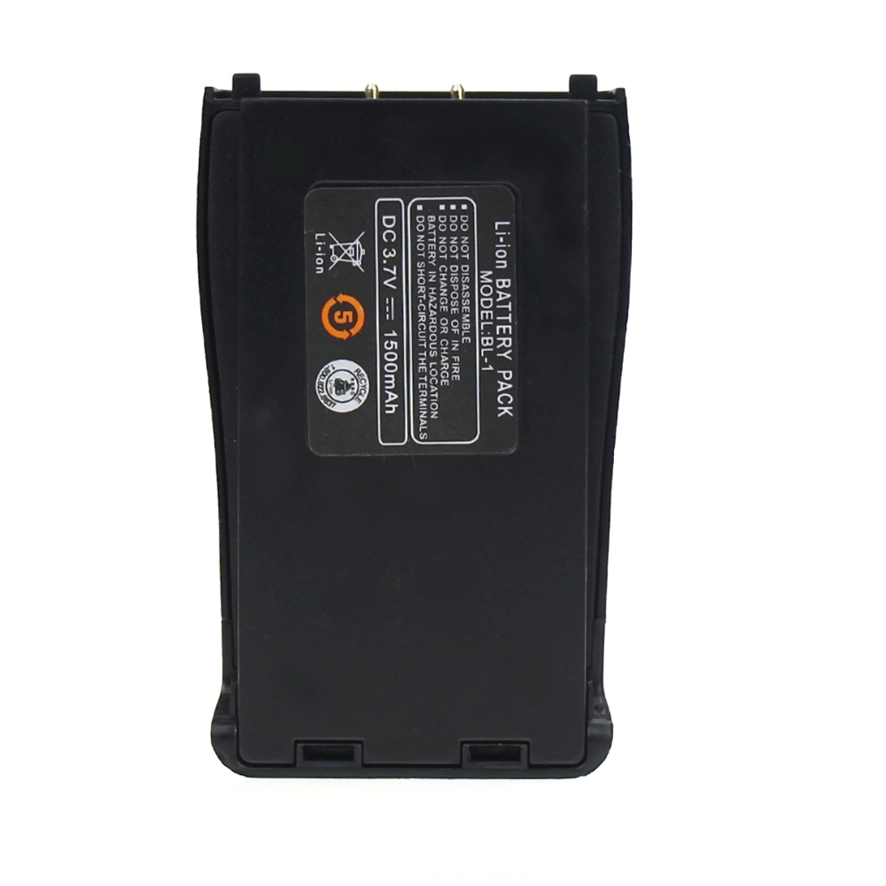 Image 2 - Original Baofeng 888S Walkie Talkie Battery BL 1 1500mAh 3.7V Li ion Battery Pack For Baofeng BF 777S Retevis H777 BF 666S BF C1-in Walkie Talkie Parts & Accessories from Cellphones & Telecommunications
