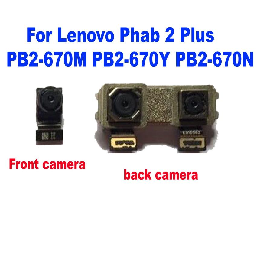 LTPro Tested Main Rear Back Camera Flex Cable For Lenovo Phab 2 Plus PB2-670M PB2-670Y P670 PB2-670N & Front Camera