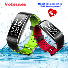 Volemer Smart band IP68 waterproof Smart Wristband Heart rate Smartband Fitness tracker Smart Bracelet Wearable devices watch