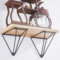 2pcs Wall Mounted bracket Table support shelf bracket 90 degree Iron crafts Hardware furniture Accessories