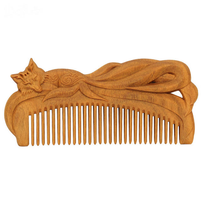 Prime Us 5 77 24 Off Dropship Hand Carved Green Sandalwood Craft Comb For Hair Fox Swan Massage Combs Vintage Hair Brush Styling Tools Gift In Combs From Creativecarmelina Interior Chair Design Creativecarmelinacom