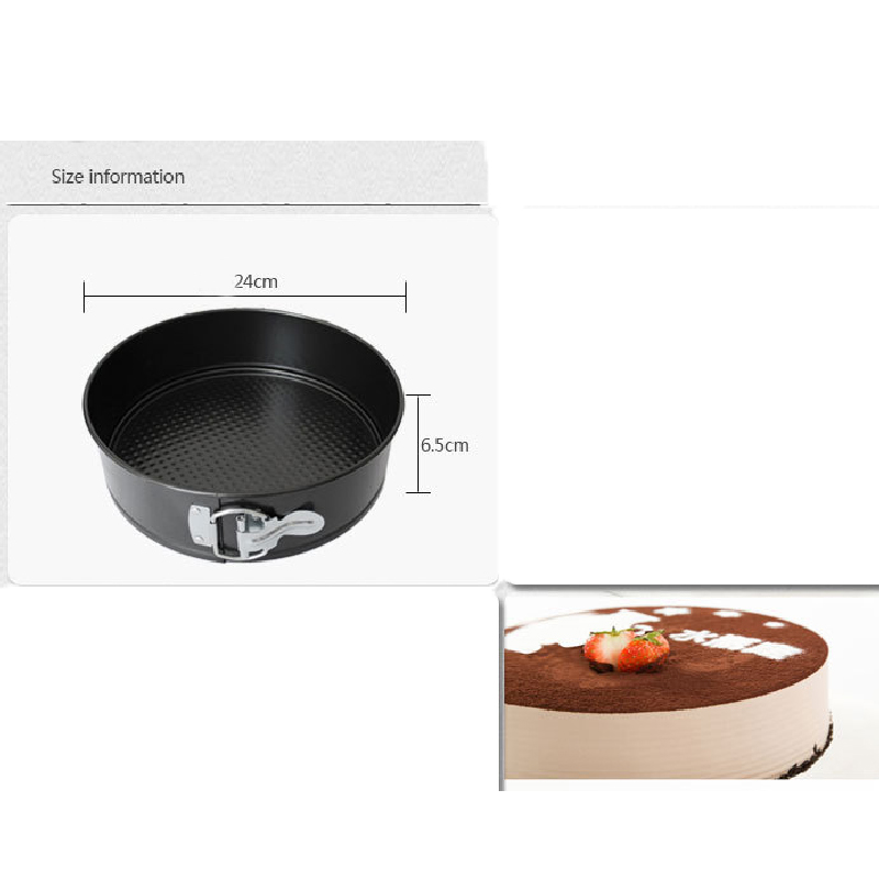 3PCS Non-Stick Bakeware Cake Pan Mold Baking Tools With Removable - Kitchen, Dining and Bar - Photo 4