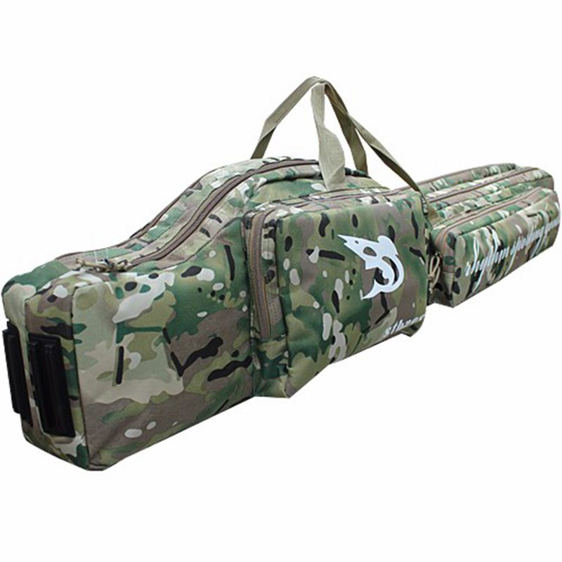 47 Tactical hunting carry hand case 1.2m long rifle gun slip double hunting backpack bag Multicam free shipping ht098