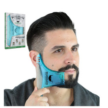 Sakal Saç Düzeltici Tıraş Fırçası Sakal Şekillendirici Şekillendirici Adam Sakal Trim Şablon saç kesim kalıp Saç kesme sakal modelleme