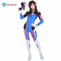 Anime D.Va Hana Song Cosplay Women Costume Jumpsuit