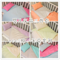 "[love] to ""Jianpin"" series: Macarons color cotton baby bedding three piece [spot]"