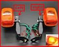 2 pz/lotto moto indicatore di direzione anteriore posteriore moto spia lampeggiatori for yamaha xt225 ttr250 klx250 xr250 cervi