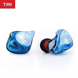 Image 3 - TRN IM2 1BA + 1DD Hibrid Kulak Kulaklık Koşu Spor Kulaklık DJ HIFI Kulaklık Özel Kulaklık Ayrılabilir Ayırmak 2Pin kablo