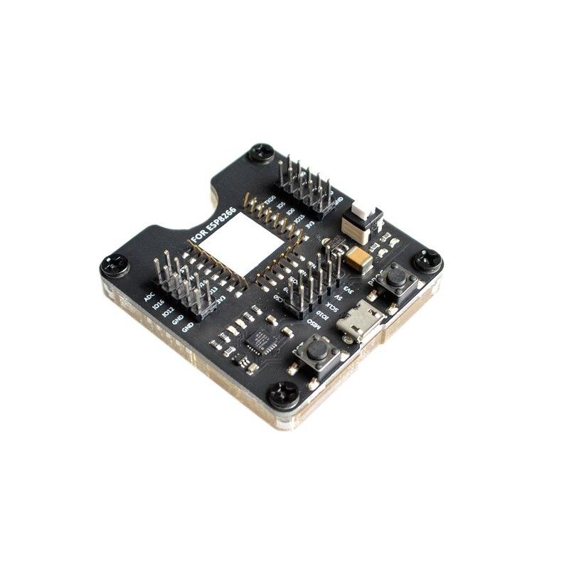 Quemador de estante de prueba ESP8266, soporte de descarga de un botón ESP12S, ESP07S y otros módulos Módulo SFP RJ45 interruptor gbic 10/100/1000 conector SFP cobre módulo RJ45 SFP puerto Gigabit Ethernet