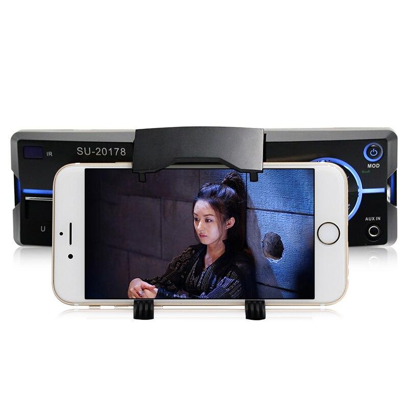 Autoradio De Voiture Radio Stéréo Lecteur Bluetooth Téléphone AUX-IN MP3 FM/USB/1 Din/Télécommande Iphone 12 V Voiture Audio De Voiture Électronique