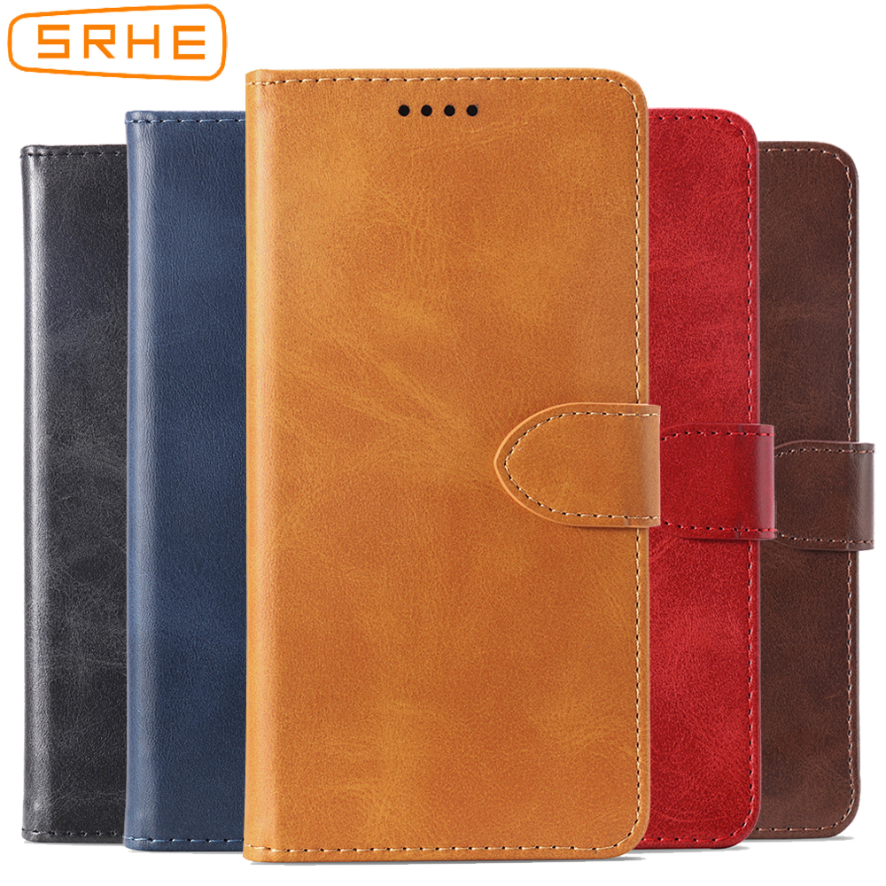 SRHE Flip Cover For Huawei Y5 2018 Case Prime Pro Leather With Magnet Wallet Lite