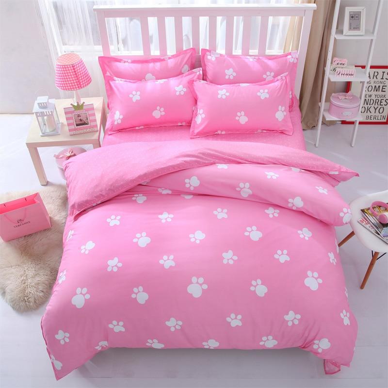 victoria secret pink king queen single size bed linen bedding sets bedclothes duvet cover bed. Black Bedroom Furniture Sets. Home Design Ideas