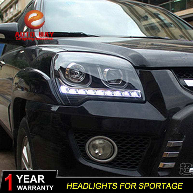 Pouzdro na styling do auta pro světlomety Kia Sportage 2009-2011 - Autosvětla