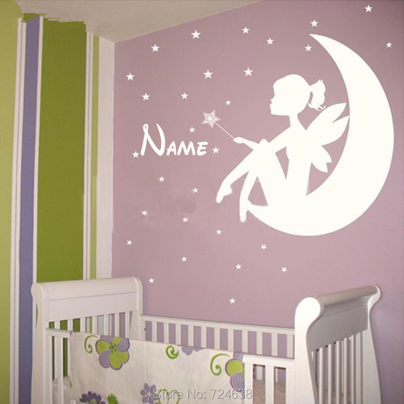Nursery Decor Wall Art Sticker Saying