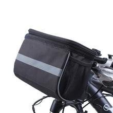 Bicycle Bag Waterproof Bike Bags Front BeamCycling Handlebar Bag Mountain Road Bike Pannier Basket Ourdoor Riding Accessories цена