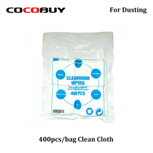 400pcs/bag LCD Screen Cleaning Cloth Dust-free film Wiping Clean 10cm*10cm for Mobile Phone Repair
