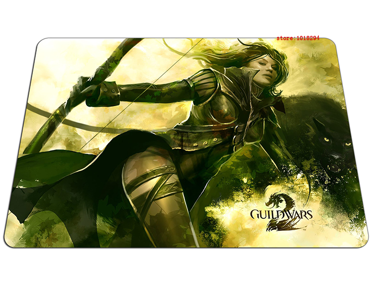 guild wars 2 mouse pad Thickened gaming mousepad High-quality gamer mouse mat pad game computer desk padmouse keyboard play mats