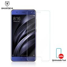 SmartDevil Tempered Glass Film for Xiaomi 6 Screen Protector Ultra-thin High Definition Xiao Mi Front Scratch Proof