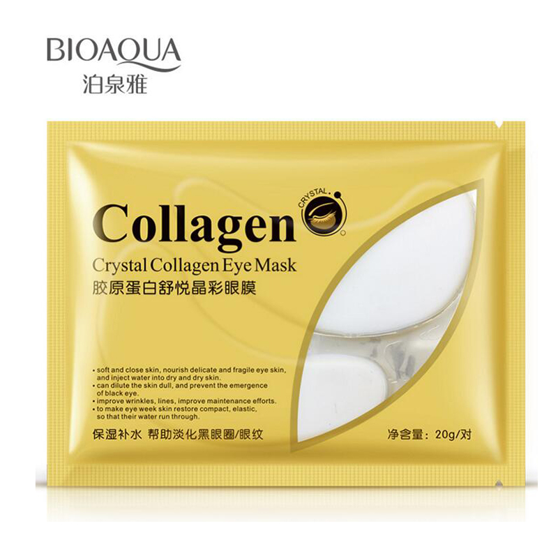 BIOAQUA Collagen Crystal Eye Mask Moisturizing Anti Ageing