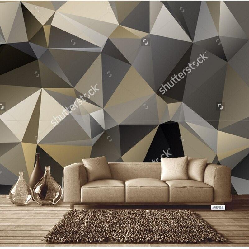 3D Geometric Triangles Pattern