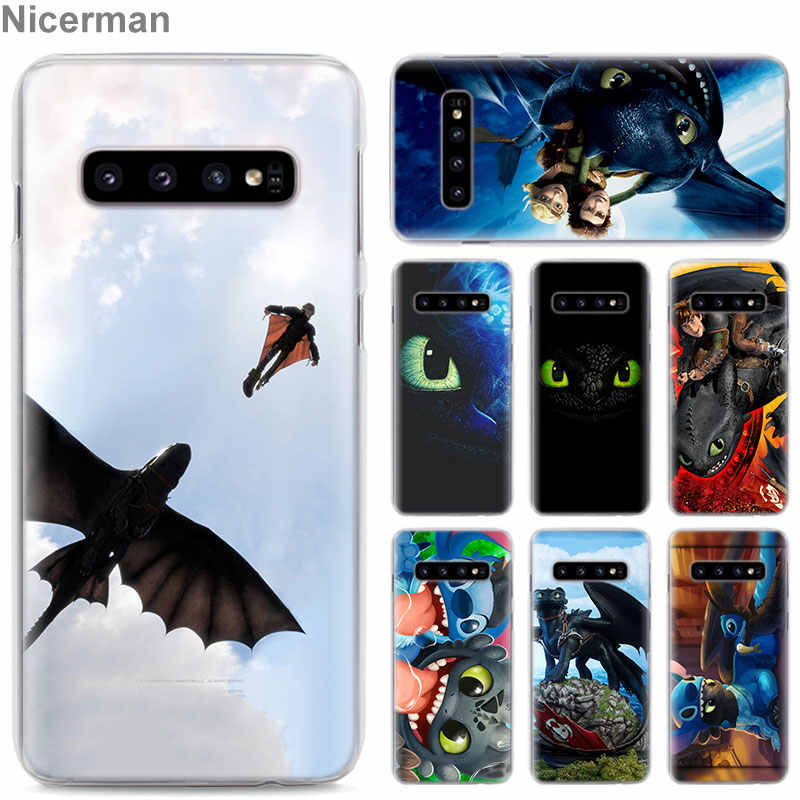 How to Train Your Dragon Toothless Phone Cases for Samsung Galaxy S10e S10 Plus S8 S9 Plus S6 S7 Edge A40 A50 A70 M20 Case Coque