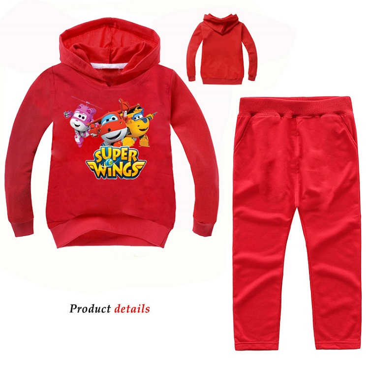Super Wings Boys Pullover