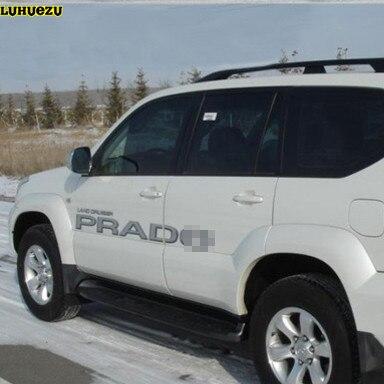 Luhuezu 3 m Autocollant De Carrosserie Land Cruiser Prado Nom Pour Toyota Land Cruiser Prado LC120 2003-2009 Accessoires