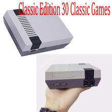 Mini Dendy Retro 8 bit Video TV Electronic Game Console Game Player To TV Boy for Classic Edition 30 Classic Games AV OUT(China)
