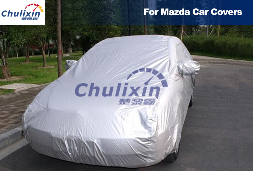 Car Covers Waterproof Sun UV Dust Rain Resistant Protection Gray for Mazda 3 Axela Mazda 2 5 6 ATENZA Mazda cx-5 cx-7 cx-9 wiper blades for mazda cx 9 26