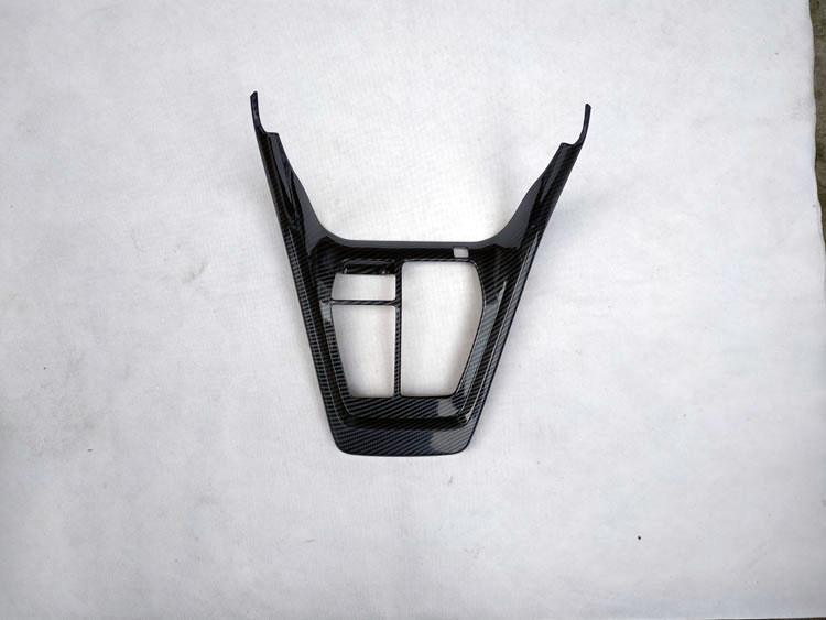 for toyota rav4 rav 4 xa50 2019 2020 interior accessories parts water cup AT Gearbox cover trim plastic carbon fiber