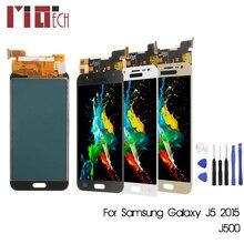 For Samsung Galaxy J5 2015 J500 J500F J500FN J500H LCD Display Touch Screen Digitizer Black White Gold Adjustable Brightness цена в Москве и Питере