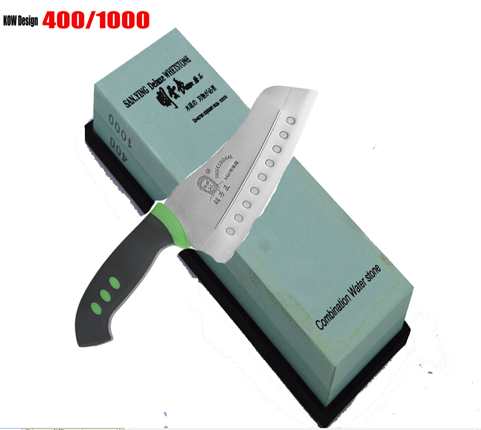 Export Japan 400 1000 Grit double face whetslate rubstone kitchen knife knivessharpening whetstone180 60 28MM Water
