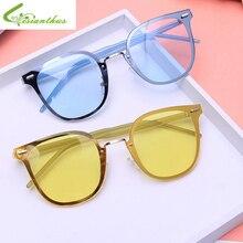 Mujeres de la manera gafas de Sol de Color Caramelo Cat Eye Shades EyewearUV400 de Lujo Diseñador de la Marca Gafas de Sol Gafas De Sol Oculos Feminino