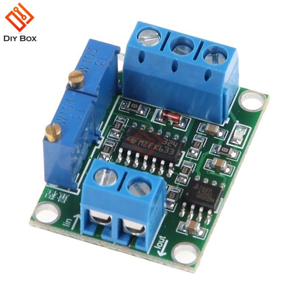 DC 7V-35V 0-2.5V 3.3V 5V 10V 15V Current to Voltage 4-20mA to 0-5V Isolation Transmitter Signal Converter Module Top