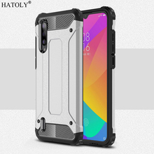 For Cover Xiaomi Mi CC9 Case Anti-knock Rugged Armor Back Silicone Phone Fundas