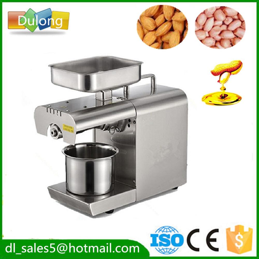 Mini Home oil pressing machine Oil expeller 180-240V small  Cocount  Almond Nuts Seeds oil press machine