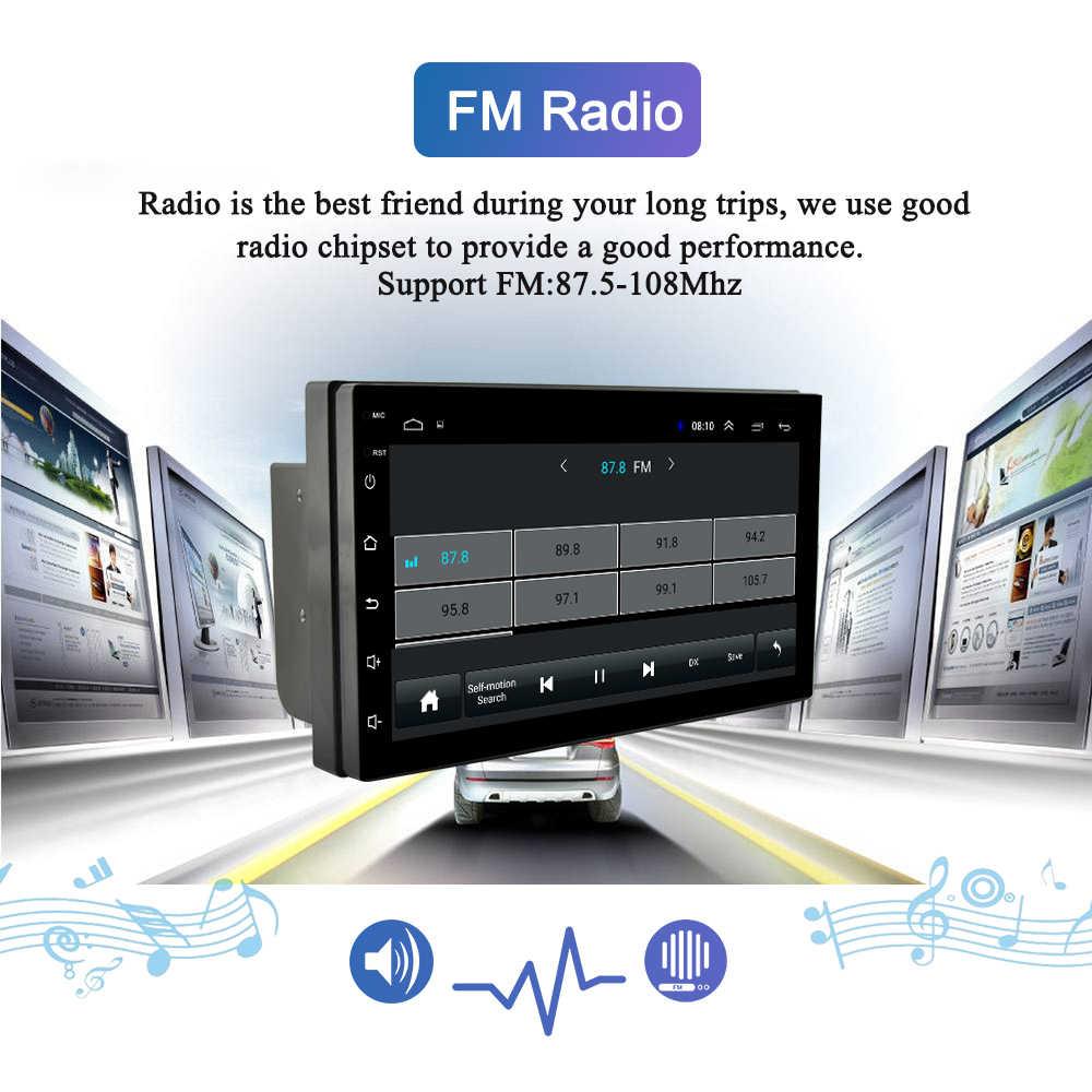 Navivox 7 ''2 喧騒車の Gps ラジオプレーヤー Android 8.1 Go ラジオ GPS ナビゲーションオーディオプレーヤー日産トヨタ現代ポロ