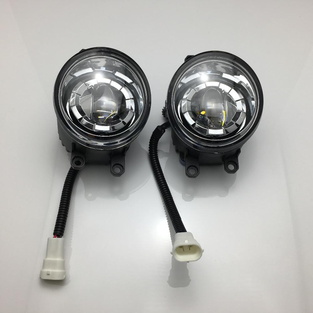 2шт алюминиевый сплав передний бампер светодиодные Противотуманные свет замены для 2007-2013 Toyota Камри / Камри гибрид