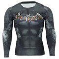 2017 Men Crossfit Long Sleeve Compression Shirt 3D Anime...